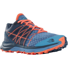 The North Face Ultra Vertical Running Trail Shoes Dam provincial blue/nasturtium orange